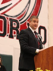 Guy Parmigian, superintendent of Benton-Carroll-Salem