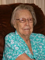Ruth Pentecost Stewart graduated high school in May of '34 and that following September started her teaching career in a one-room schoolhouse at the age of 18.