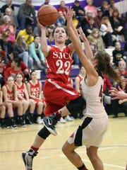 SJCC's Miranda Wammes was recognized honorable mention all-Ohio in Division IV.