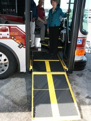 Clarksville Transit System has added five new fuel-efficient