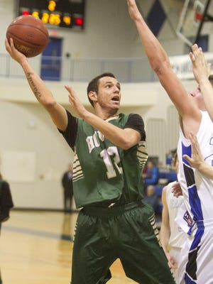 Howell's Deajay Klett and his teammates will have their hands full with Walled Lake Western tonight in the first round of the KLAA Tournament.