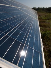 Silicon Ranch operates solar arrays in Pulaski, Tennessee, among other sites.