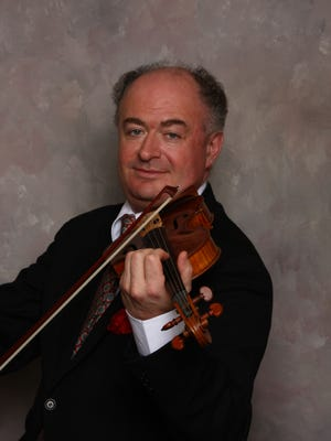 Ilya Kaler performed Mendelssohn's Concerto for Violin and Orchestra in E Minor on Saturday with Richmond Symphony Orchestra.