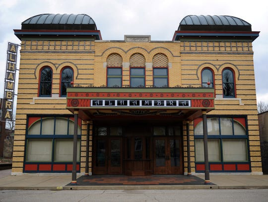 The Alhambra Theatre underwent about a $400,000 renovation
