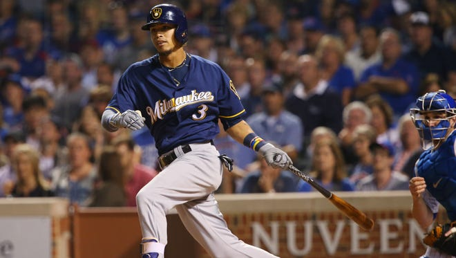 Brewers shortstop Orlando Arcia will be the only infield starter to return at the same position in the 2017 season.