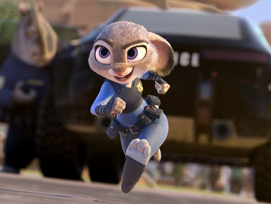 This image released by Disney shows Judy Hopps, voiced
