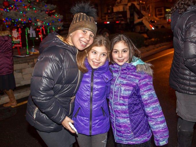 Amanda, Gabriella, Chana. Friends of Lubavitch of Bergen