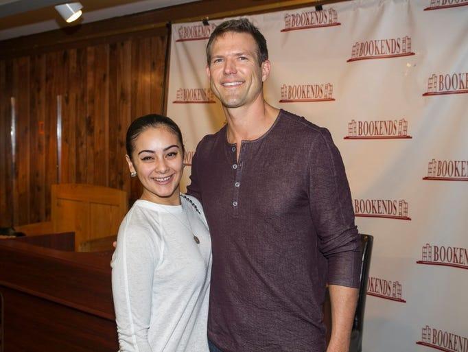 Lucy Eyerman with Dr. Travis Stork. Dr. Travis Stork,