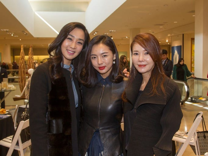 Soyoung Cho, Yuna Moon, Michelle Min. Neiman Marcus