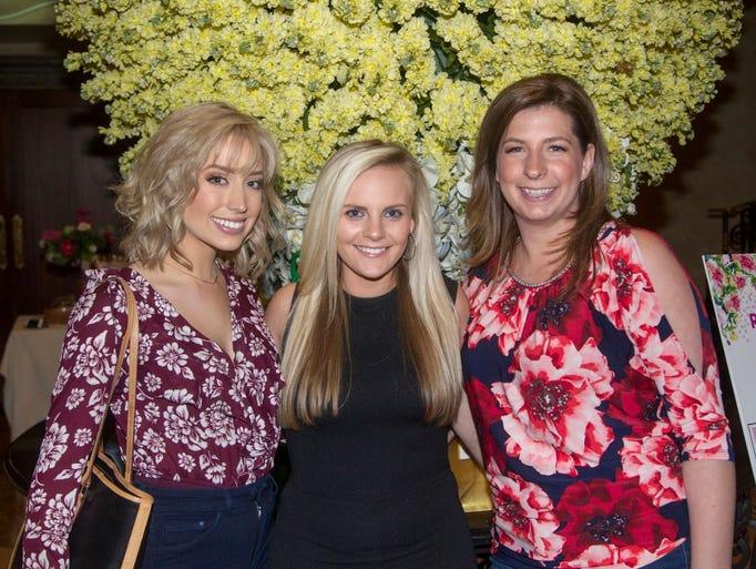 Erin Moore, Katrina Lamvregtse, Melissa Webber.Wyckoff