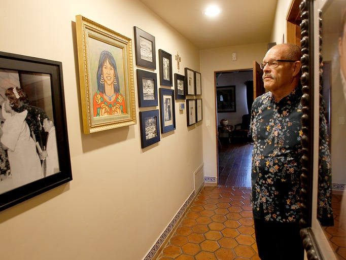 José Cardenas' home is a tribute to his late wife Virginia.