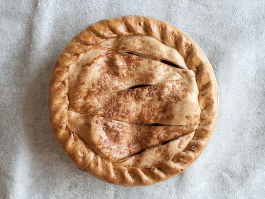 The apple pie at Bread Alone uses apples from Mead