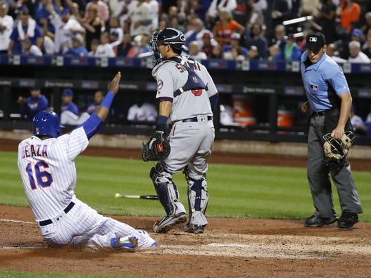 Twins Mets Baseball