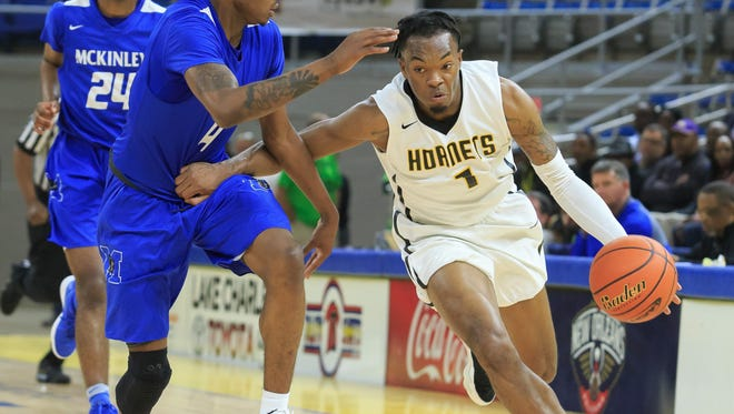 Ja'Vonte Smart is shown in the Division I semifinal game vs. McKinley.