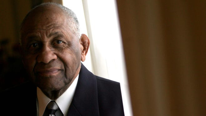 Rev. Richard Dixon, a civil rights leader who marched with the Rev. Martin Luther King Jr. and served as pastor of Macedonia Bapstist Church in Mount Vernon for four decades, was laid to rest at the church on Monday. Dixon, 92, died on April 25.