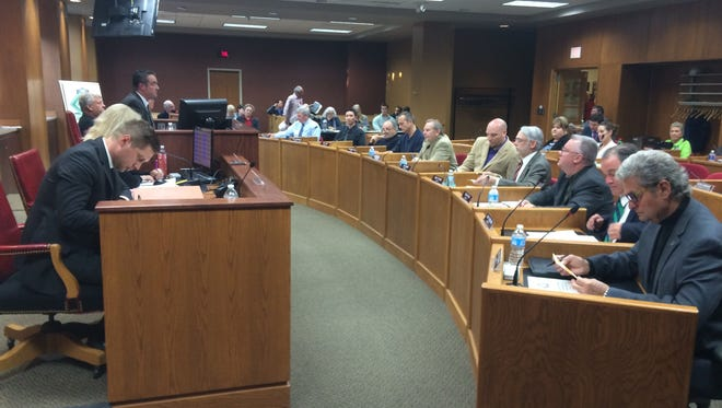 The Green Bay City Council meets on May 19, 2015.