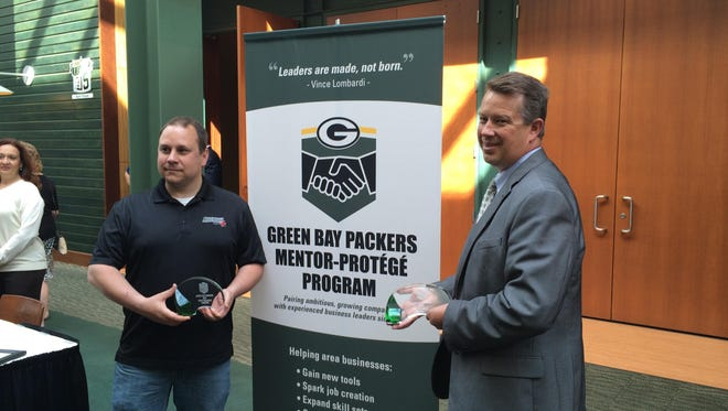 Eight companies were selected as protégés for the sixth year of the Green Bay Packers' Mentor-Protégé Program.