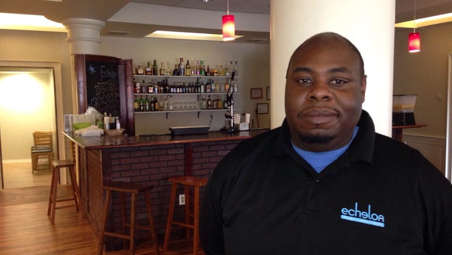 Chauwan Matthews is co-owner of Echelon on the Downtown Plaza in Salisbury.