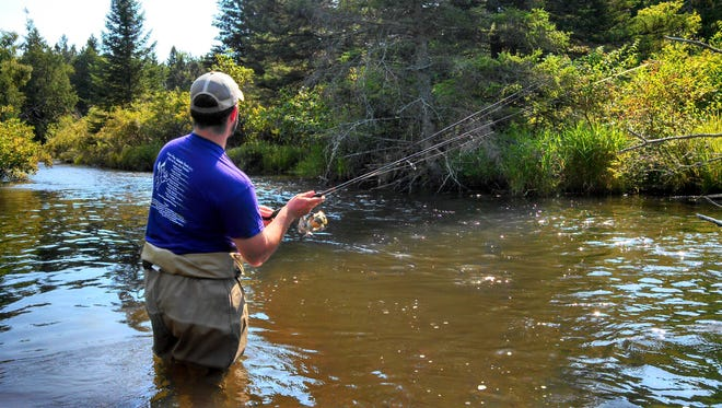 Anglers will soon see a stretch of the Pigeon River opened up that has been dammed for 100 years.