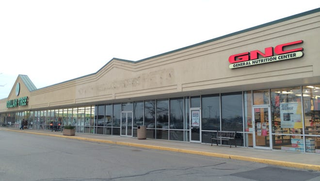 The dark store between Dollar Tree and GNC in Darboy had been a Hallmark store until Sunday.