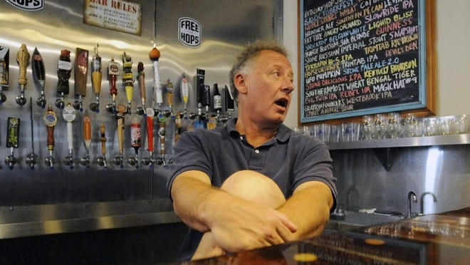 Dee Walker says he's attracting a larger crowd every Sunday afternoon at his Sylacauga, Ala., craft beer and wine shop, The Fermenter's Market at The Rex, named for the old hotel in which it is located.