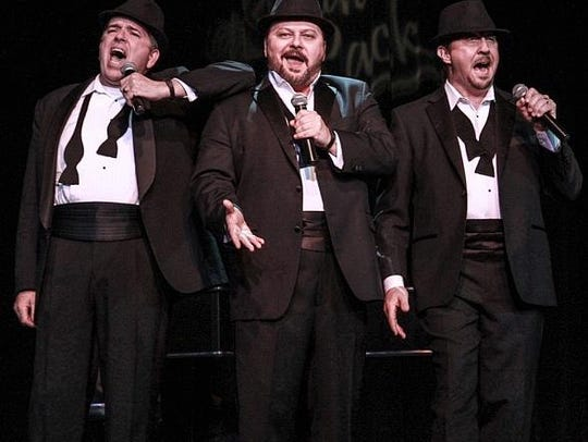 The Phat Pack performs Tuesday, Feb. 13, at the Fort