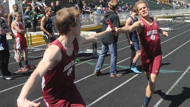 Asheville High's boys won Thursday's Buncombe County track meet at Reynolds.