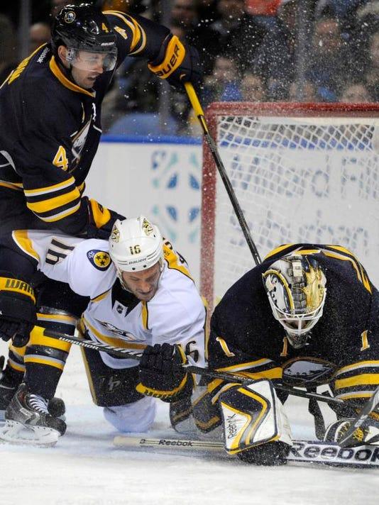 Predators Sabres Hockey (2)