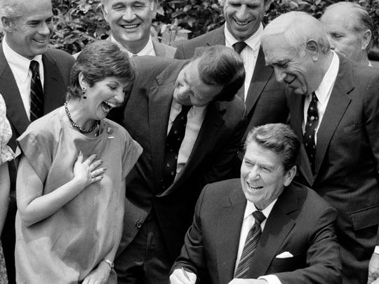 President Ronald Reagan made a major faux pas in 1984 when he thought a microphone was off the air. You can be just like him on Aug. 11's Presidential Joke Day.