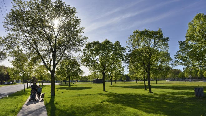 Centennial Park in St. Cloud is the stop for this Tuesday's Walk in the Park. The walk will begin at noon.