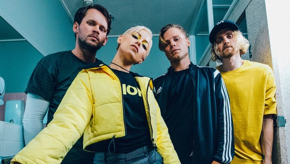 "Tonight Alive's new album, ""Underworld,"" arrived in"