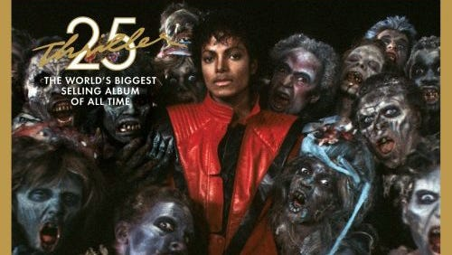 """25th anniversary edition of """"Thriller."""""""