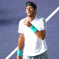 Juan Martin del Potro of Argentina will return to the BNP Paribas Open after missing 2014 with a wrist injury.