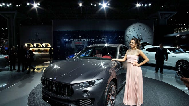 The 2017 Maserati Levante SUV is expected to arrive in dealerships in October. Maserati is hoping its reputation will set the SUV a part from others.
