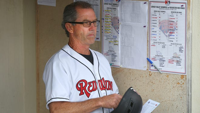 Red Wings manager Gene Glynn