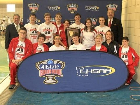 The Ruston boys swim team won its fourth consecutive state championship.