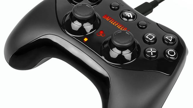 The PDP Battlefield 4 official wired controller.