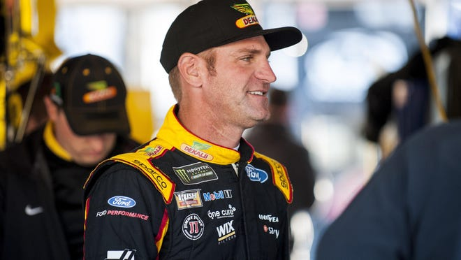 NASCAR Cup Series driver Clint Bowyer won't have his hometown fans with him when the Super Start Batteries 400 starts Thursday at Kansas Speeway.