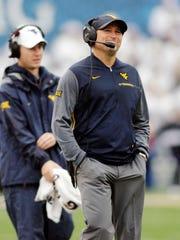West Virginia coach Dana Holgorsen