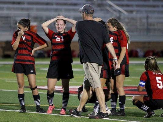 WFHS Grapevine soccer area playoff