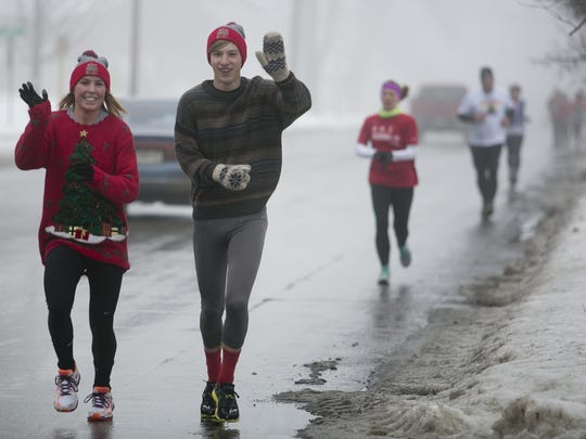 The Hot Chocolate 5k Run/Walk will be held Dec. 9,