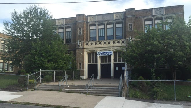 School 22 on Zimbrich Street is one of two former schools the city wants to sell to charter operators.