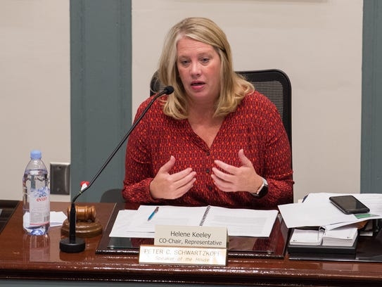 Rep. Helene M. Keeley, D-Wilmington South, who is the