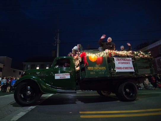 86th Annual Lewes Christmas Parade.