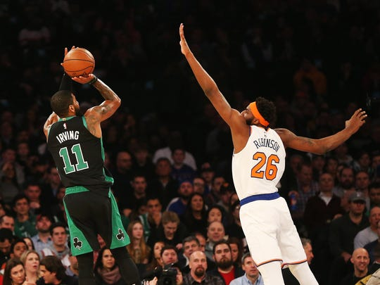 Mitchell Robinson has made steady progress in his rookie season with the New York Knicks. His shot-blocking is a signature part of his game.