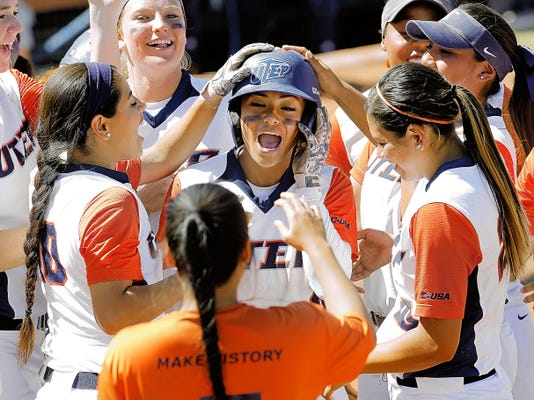 utep softball web only
