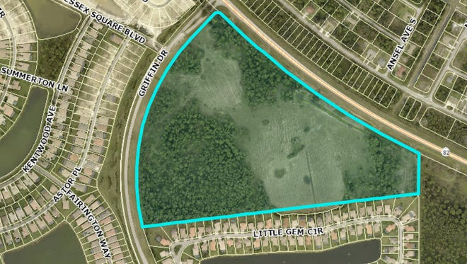 The Lee County school board has voted to make a 55.6-acre property in Gateway home to its next high school. The site is located off of State Road 82 and Griffin Drive.