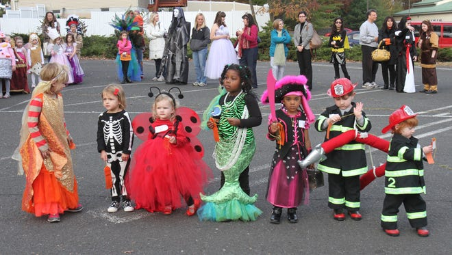Halloween parades and contests abound this month in Central Jersey.