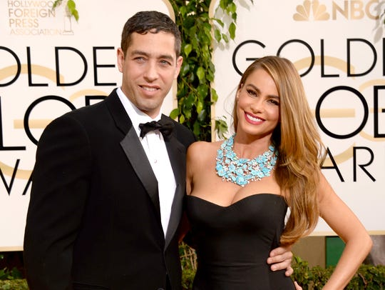 Sofia Vergara and Nick Loeb in happier times in January