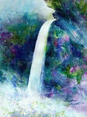 """""""Waterfall"""" by Sudeshna Sengupta"""
